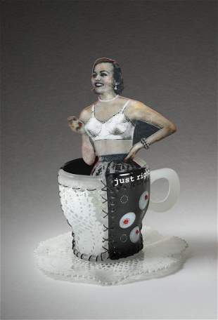 Susan T Glasgow Just Right Cup Glass Art Habatat