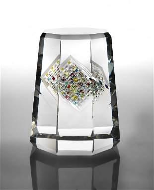 Jon Kuhn October Jewel 1993 Glass Art Habatat
