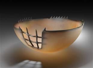 Jay Musler Grrr #5 1982 Glass Art Habatat