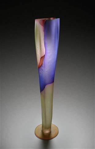 Danny Perkins Red Cut Glass Art Habatat