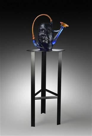 Paul Nelson Chihuly Water Pot Glass Art Habatat