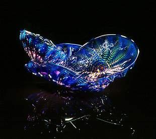 Dale Chihuly Orchid Seaform Set Glass Art Habatat