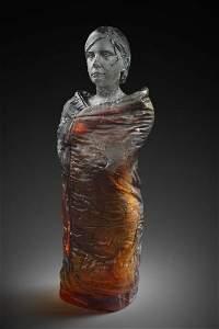 Oben Abright Olivia IV 2015 Art Glass Habatat