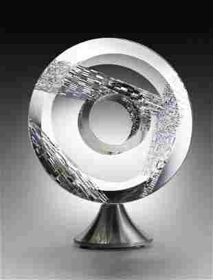Jon Kuhn Brilliant Wind 2003 Glass Art Habatat