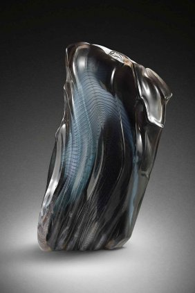 William Morris Vessel 1983 Glass Art Habatat