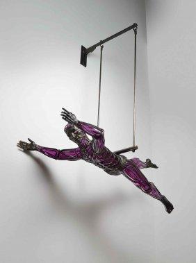 David Bennett Acrobat 2005 Glass Art Habatat