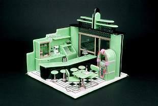 Emily Brock The Diner 1989 Glass Art Habatat