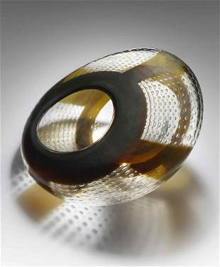 Steven Dale Edwards Vessel 1981 Glass Habatat