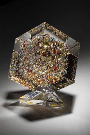 Jon Kuhn Gold Berry 1997 Glass Art Habatat