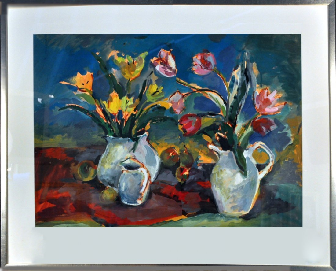 7: Still  Life With Tulips