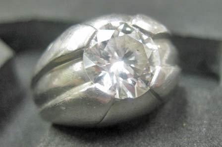 44: Platinum Diamond Ring