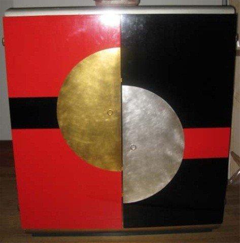 424: Paul Frankl 2 Door Cabinet
