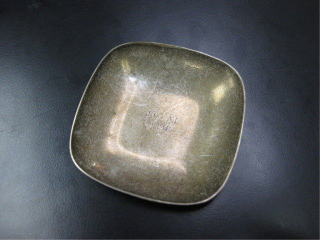 5: Tiffany & Co. Sterling Square Nut Dish