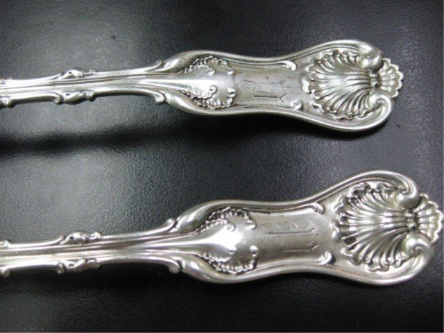 6: Pair of Whiting Sterling Stuffing Spoons - 2