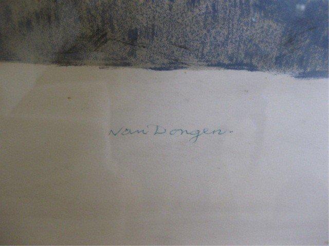 406: Lithograph - Street Scene, Van Dongen - 2
