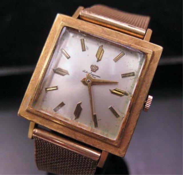 7: Jules Jurgensen 18K Gold Men's Watch