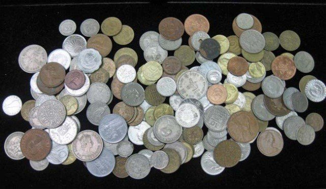 23: Collection of 20th Century Foreign Coins