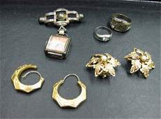 218 Assorted 14K Gold and Sterling Jewelry
