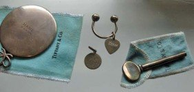 5: 4 Tiffany & Co. Sterling Silver Articles