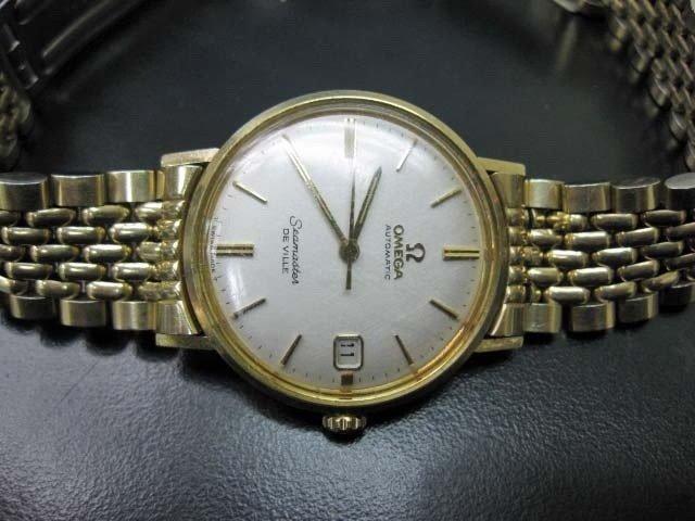 10: Gold Filled Omega Seamaster Men's Watch