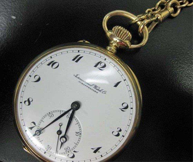 11: International Watch Co. Pocket Watch