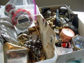 Assorted Costume Jewelry And Trinkets