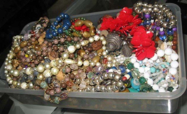 18: Collection of Assorted Beaded Jewelry