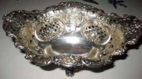 24: Tiffany and Co. Sterling Silver Bon Bon Dish