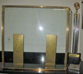 71: 4 Piece Art Deco Style Fireplace Ensemble
