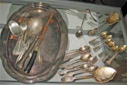 11 Collection of Sterling and Silver Plated Articles