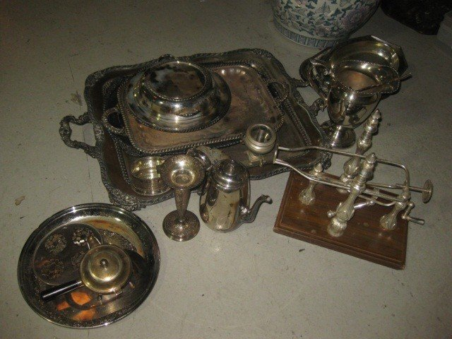 18: Assortment of Silver Plated Articles
