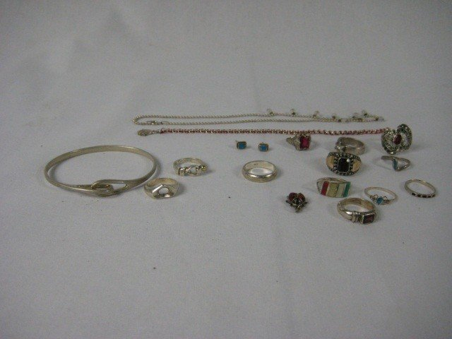 7: Tiffany & Co. and Assorted Sterling Jewlery