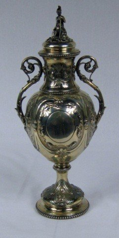 10: Victorian Silver Urn with Cover