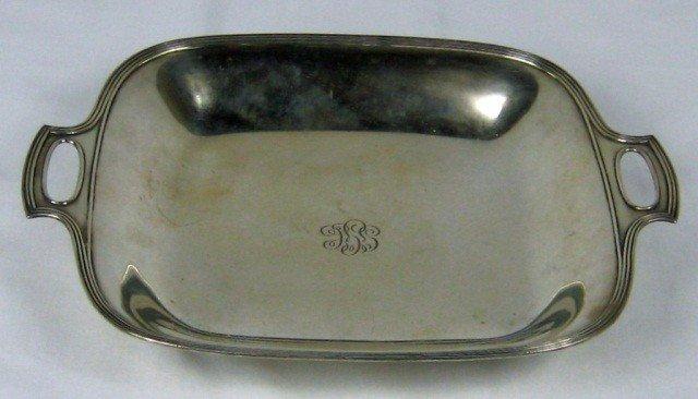 11: Tiffany & Co. Sterling Silver Bread Plate