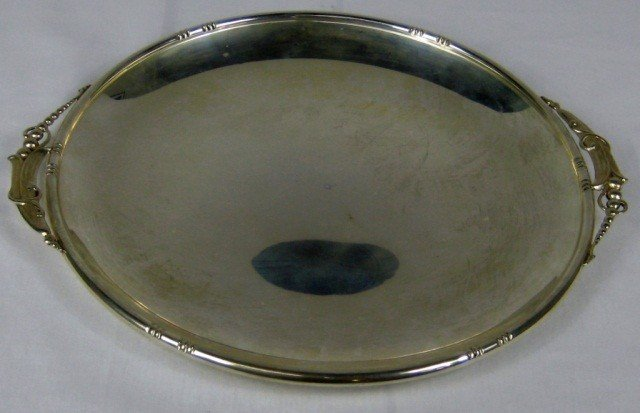 12: Sterling Silver Cake Plate
