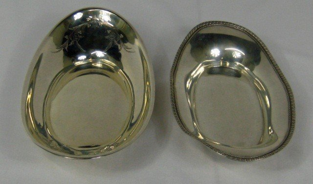 13: 2 Sterling Silver Vegetable Dishes