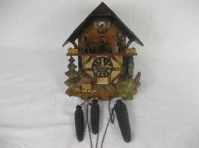 Swiss/German 3 Weight Cukoo Clock