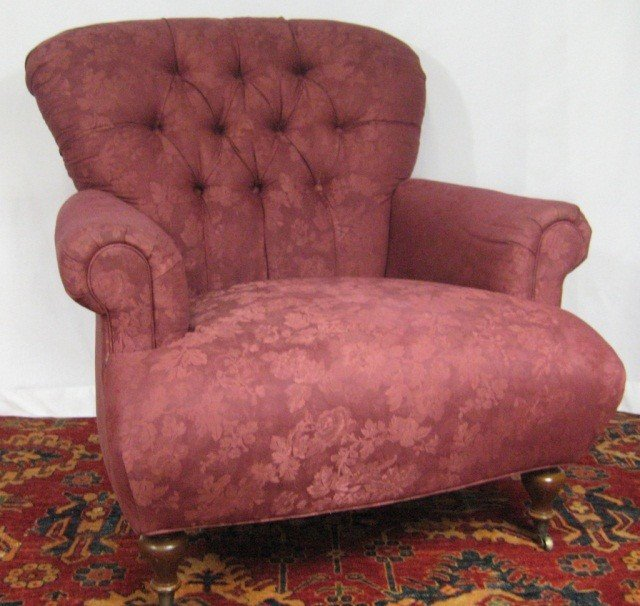 114: Pair of George Smith Upholstered Chairs