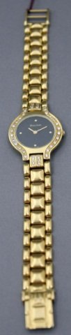 6: Bulova 18K Gold Ladies Wristwatch