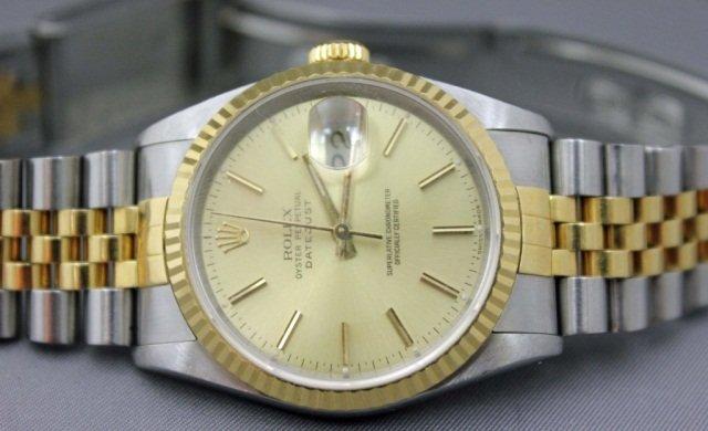 15: Men's Rolex Datejust Wristwatch
