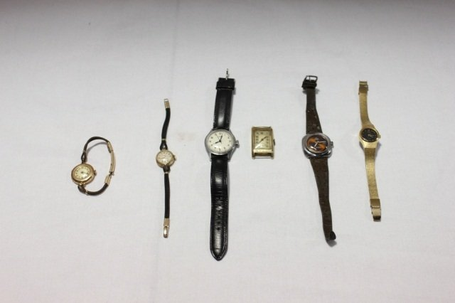 1: Group of 6 Assorted Wristwatches
