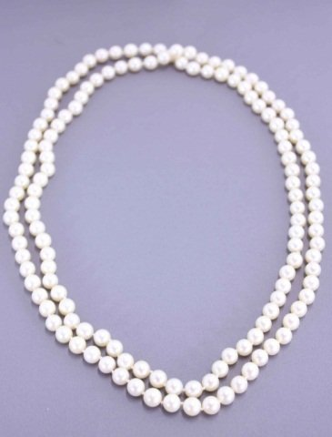 8: Strand of Pearls Necklace
