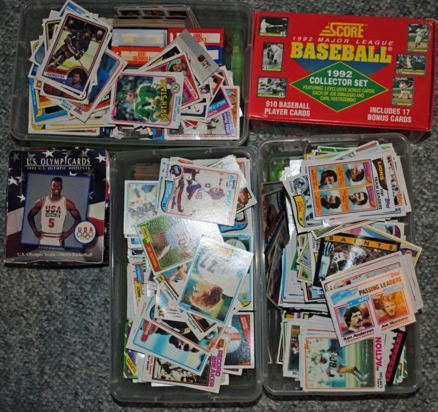 7: Collection of Sporting Trading Cards
