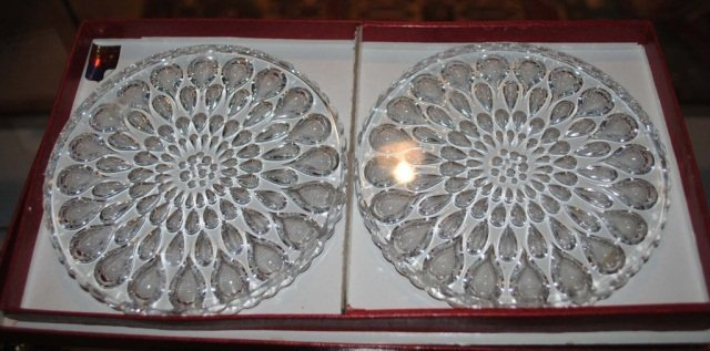 10: Pair of Baccarat Coasters