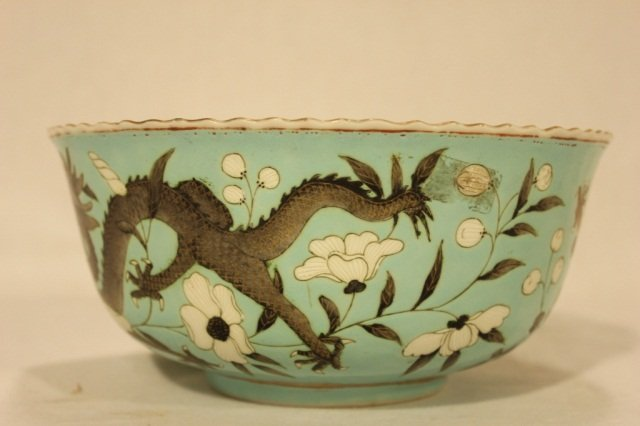 16: Chinese Dragon and Turquoise Bowl