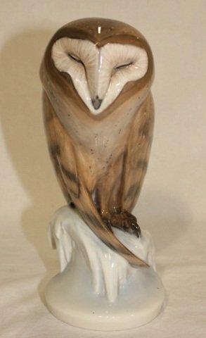 17: Royal Copenhagen Porcelain Owl