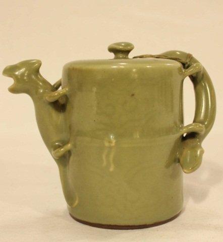 20: 19th Century Celadon Teapot