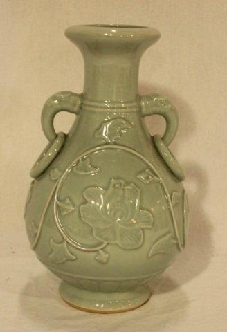 23: Chinese Celedon Vase