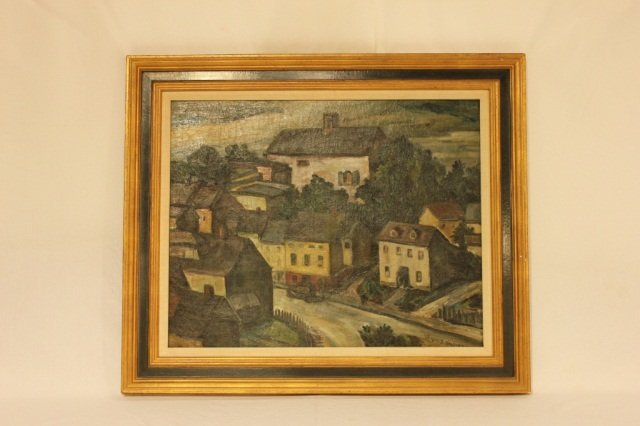 108: Samuel T. Halpert - Oil on Canvas