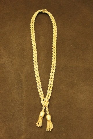 14K Yellow Gold Rope Necklace